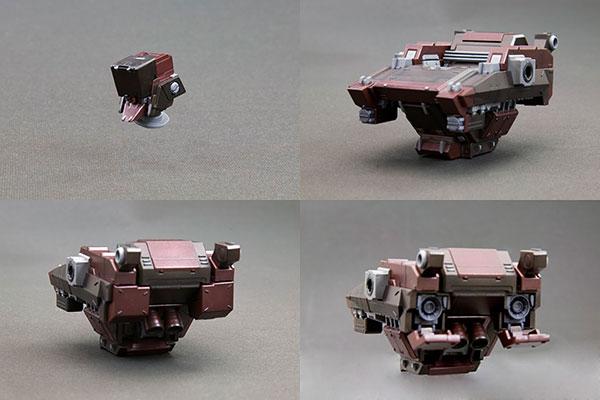V.I. Series Armored Core GA GAN01-SUNSHINE-E Feedback Plastic Kit (Pre-order)V.I.シリーズ アーマード・コア GA GAN01-SUNSHINE-E フィードバック プラスチックキットAccessory