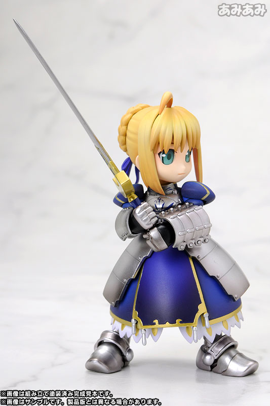 Fate/stay night セイバーさん プラスチックキット