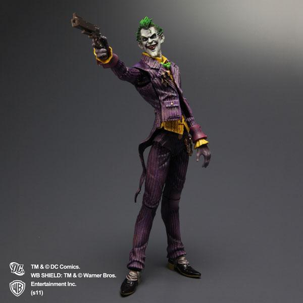 NEW Square Enix Arkham Asylum Play Arts Kai Joker+Batman Action Figure