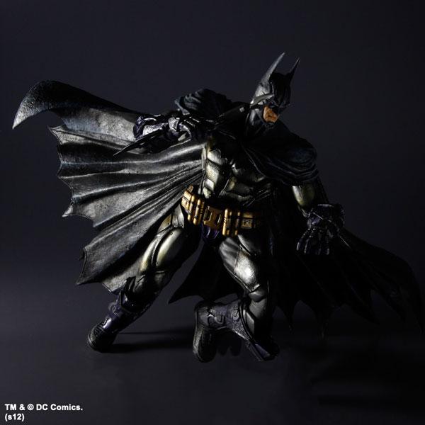 Square Enix Batman Arkham Asylum Play Arts Kai Armored Suit+Harley