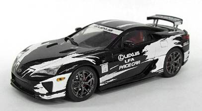 amiami character hobby shop j collection diecast model 1 43 lexus lfa pace car toyota. Black Bedroom Furniture Sets. Home Design Ideas