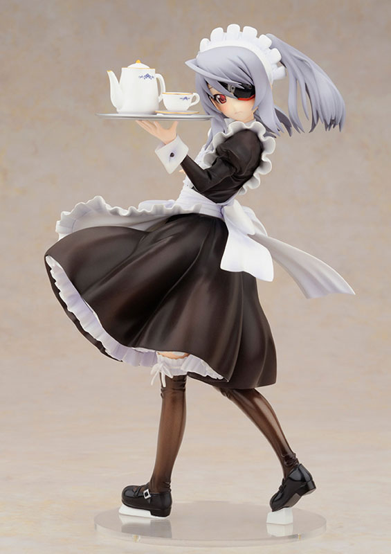 【新品介紹】【ALTER】Infinite Stratos Laura Bodewig 勞拉 博迪維希 Maid Ver. 1/8 PVC Figure - hyde -     囧HYDE囧の御宅部屋