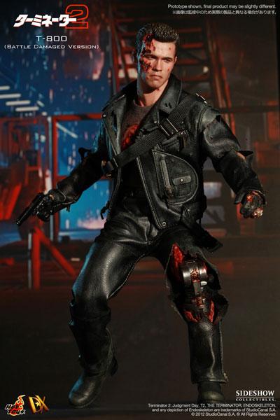 [新闻]1/6 Scale Fully Poseable Figure: Terminator 2 - T-800 (Battle Damaged Version)