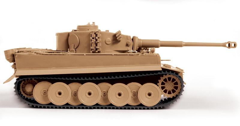 Модель для склеивания - Немецкий тяжёлый танк Т-VI Тигр (Звезда, 3646з