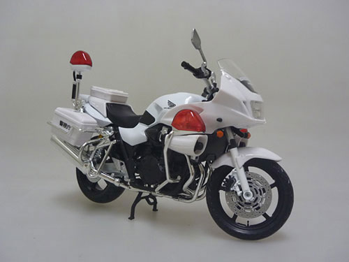 1/12 Complete Motorcycle Model CB1300P (WHITE)(Back-order)1/12 完成品バイク CB1300P (白バイ)Accessory