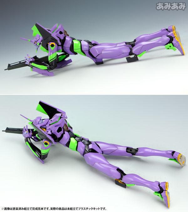 Evangelion: 2.0 You Can - 1/400 General-Purpose Humanoid Battle Weapon EVANGELION Test Type 01 Plastic Model(Pre-order)ヱヴァンゲリヲン新劇場版:破 1/400 汎用ヒト型決戦兵器 人造人間エヴァンゲリオン初号機 プラモデルAccessory
