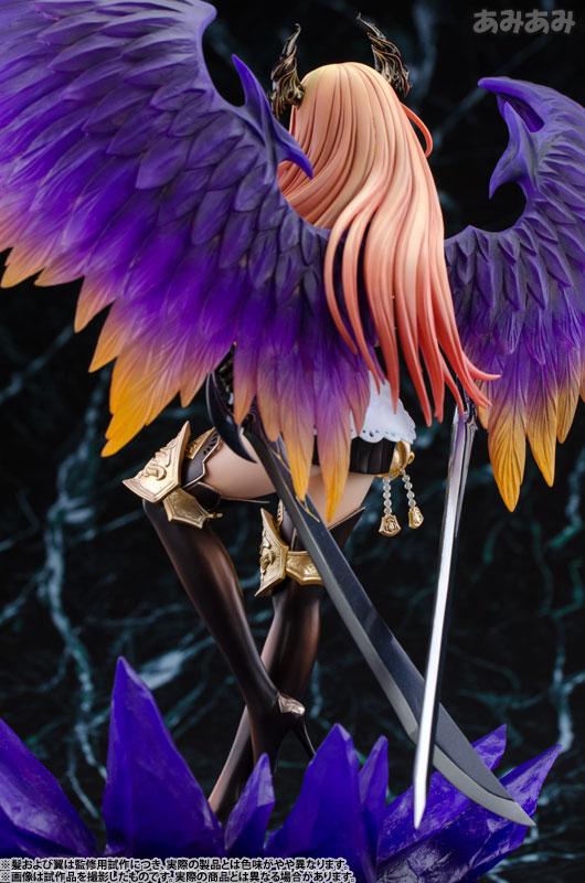 【壽屋】【新品介紹】Rage of Bahamut 巴哈姆特之怒 Dark Angel Olivier 暗黑天使 奧利維爾 1/8 PVC Figure - hyde -     囧HYDE囧の御宅部屋