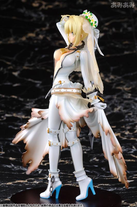 【新品介紹】【alphamax】Fate/EXTRA CCC Saber 1/8 PVC Figure - hyde -     囧HYDE囧の御宅部屋