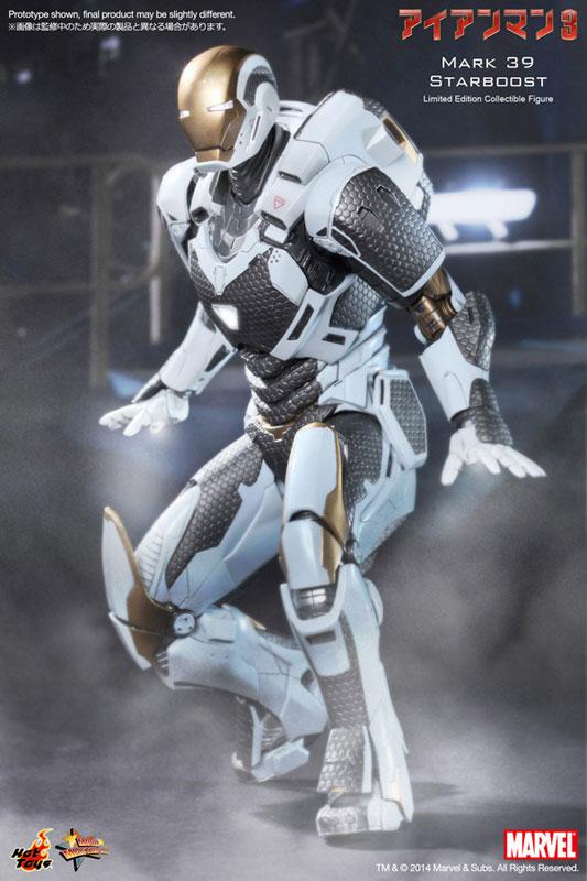 ムービー・マスターピース アイアンマン3 1/6スケールフィギュア アイアンマン・マーク39(スターブースト) 単品