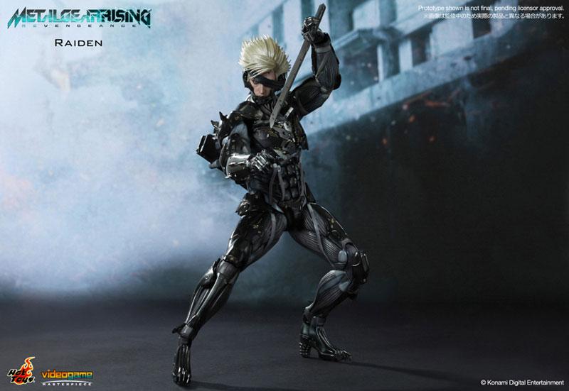 ビデオゲーム・マスターピース メタルギア ライジング リベンジェンス 1/6スケールフィギュア 雷電