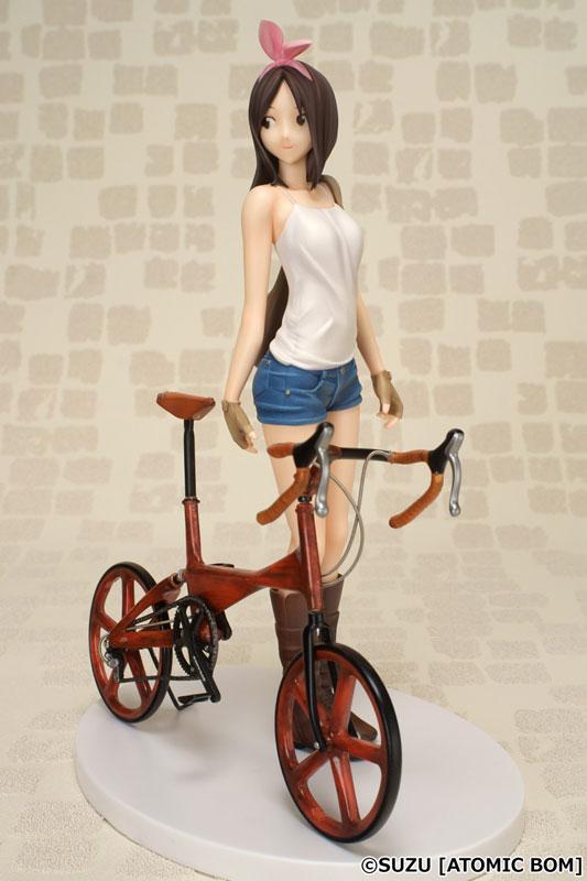Atomic Bom Cycle vol.02 自転車と女の子 1/7 完成品フィギュア[回天堂]《05月予約》
