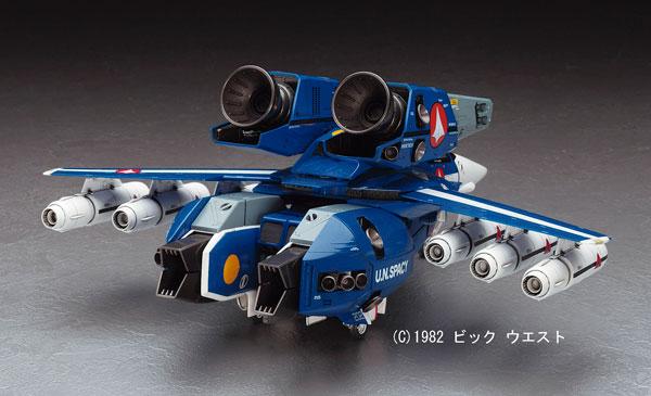 """超時空要塞マクロス 1/48 VF-1J スーパーバルキリー""""マックス/ミリア""""w/反応弾 プラモデル"""
