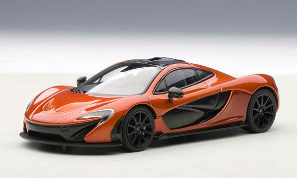 AmiAmi [Character U0026 Hobby Shop] | 1/43 Diecast Model Car McLaren P1  (Orange)(Back Order)