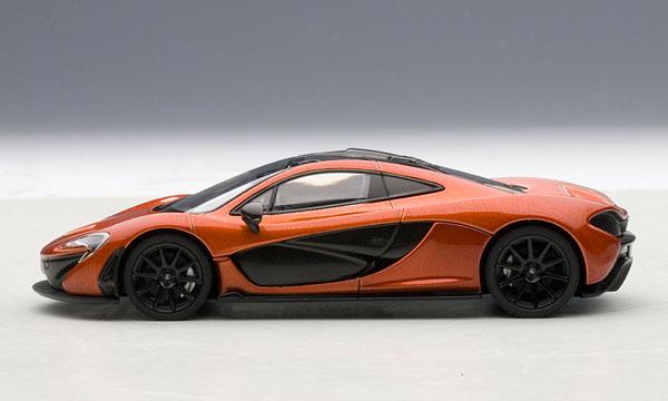 AmiAmi [Character U0026 Hobby Shop]   1/43 Diecast Model Car McLaren P1  (Orange)(Back Order)