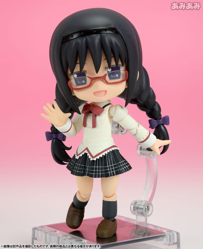 Cu-poche Puella Magi Madoka Magica the Movie Homura Akemi Posable Figure