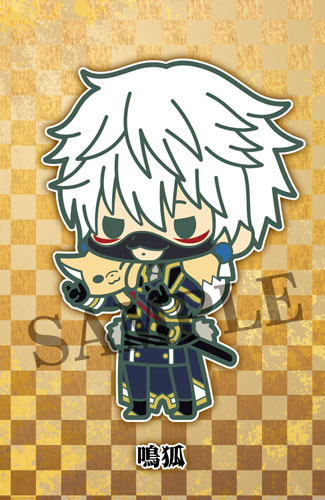 es Series nino Rubber Strap Collection - Touken Ranbu Unit 1 8Pack BOX(Pre-order)esシリーズnino ラバーストラップコレクション 刀剣乱舞 第一部隊 8個入りBOXAccessory