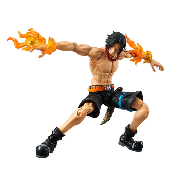 Variable Action Heroes - ONE PIECE: Portgas D. Ace Action Figure(Pre-order)ヴァリアブルアクションヒーローズ ワンピース ポートガス・D・エース アクションフィギュアScale Figure
