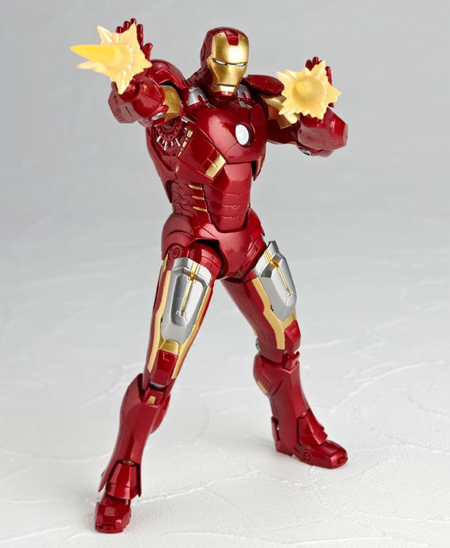 Legacy of Revoltech Tokusatsu Revoltech LR Avengers Iron Man Mark Pre order LRAccessory