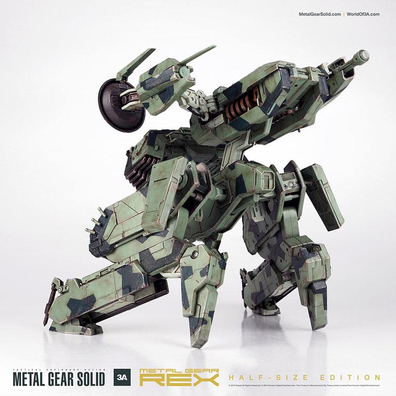 METAL GEAR SOLID(メタルギアソリッド) METAL GEAR REX (メタルギアREX) ハーフサイズ版