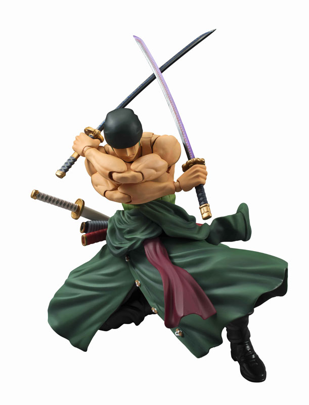 Variable Action Heroes Roronoa Zoro Action Figure Pre orderScale Figure