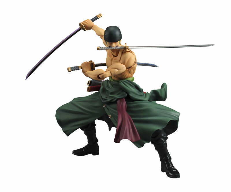 Variable Action Heroes Roronoa Zoro Action Figure(Pre-order)ヴァリアブルアクションヒーローズ ワンピース ロロノア・ゾロ アクションフィギュアScale Figure