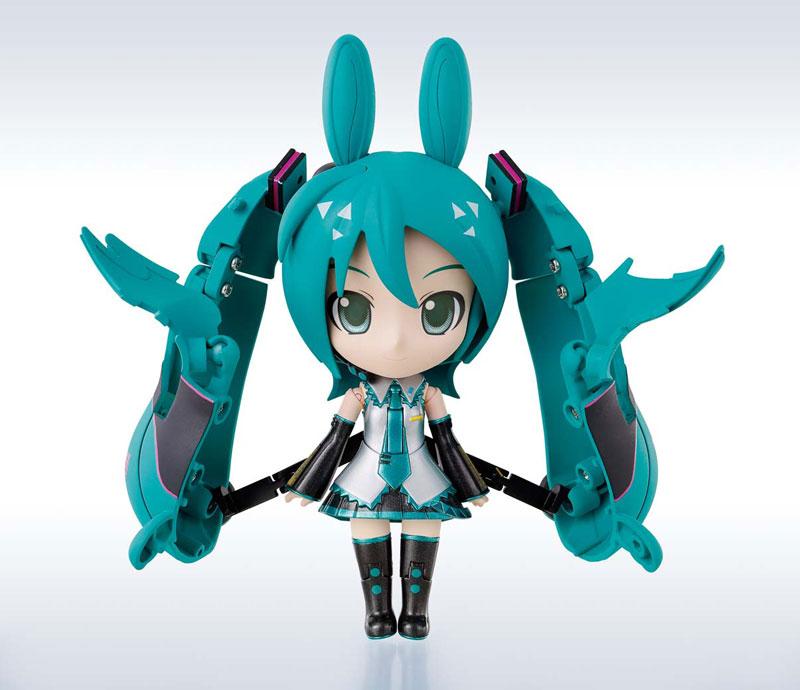 Chogokin Miracle Henkei: Miku Hatsune x Rody Pre orderScale Figure