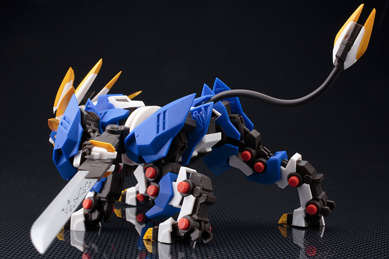 ZA (ZOIDS AGGRESSIVE) - Murasame Liger 1/100 Action Figure(Released)ZA(ZOIDS AGGRESSIVE) ムラサメライガー 1/100 アクションフィギュアScale Figure