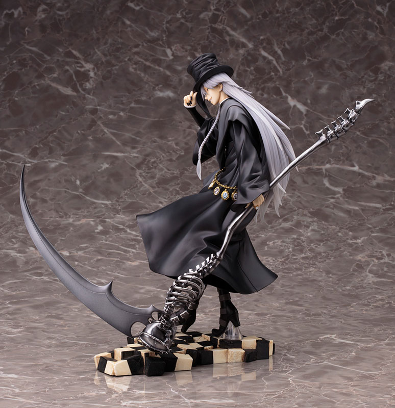 ARTFX J - Black Butler: Book of Circus: Undertaker 1/8 Complete Figure(Pre-order)ARTFX J 黒執事 Book of Circus 葬儀屋 1/8 完成品フィギュアScale Figure