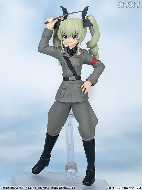 figFIX Girls und Panzer: Anchovy Complete Figure Pre order figFIXFigma