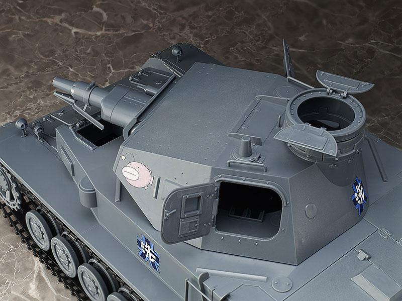 figma Vehicles ガールズ&パンツァー 1/12 IV号戦車D型 本戦仕様