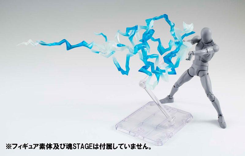 Tamashii EFFECT THUNDER Blue Ver. Pre order EFFECT THUNDER Blue Ver.Accessory