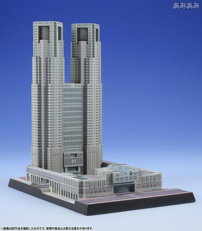 1/2000 東京都庁舎 プラモデル
