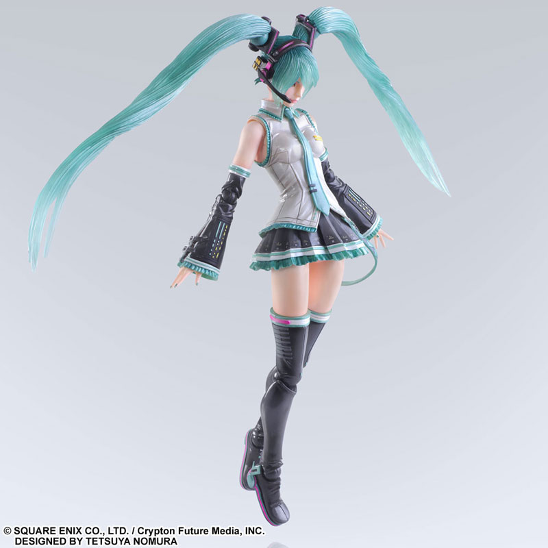 Variant Play Arts Kai - DESIGNED BY TETSUYA NOMURA Miku Hatsune(Pre-order)ヴァリアント プレイアーツ改 DESIGNED BY TETSUYA NOMURA 初音ミクScale Figure