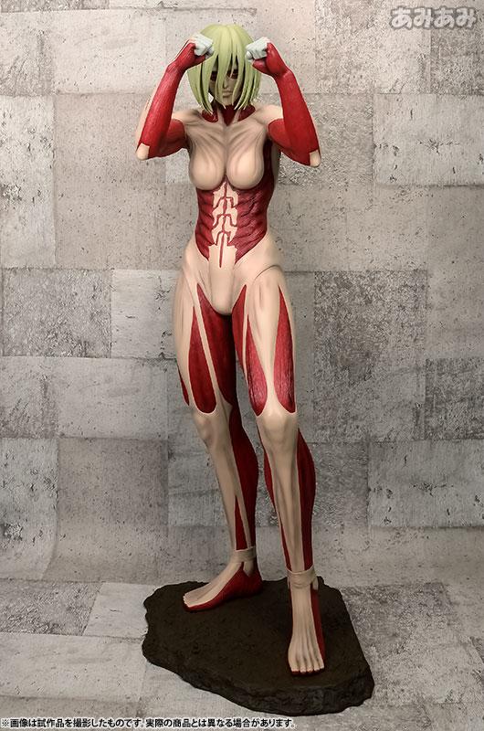 進撃の巨人 女型の巨人 ポリレジンフィギュア 90cm級[A-TOYS]