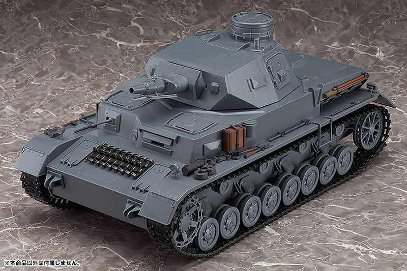 figma Vehicles - Girls und Panzer 1/12 IV Tank Exterior Equipment Set(Pre-order)figma Vehicles ガールズ&パンツァー 1/12 IV号戦車 車外装備品セットFigma