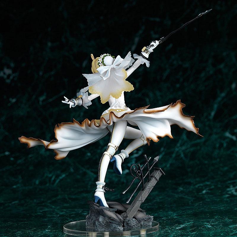 【新品介紹】【双翼社】Fate/EXTRA CCC Saber Bride 1/7 PVC Figure - hyde -     囧HYDE囧の御宅部屋