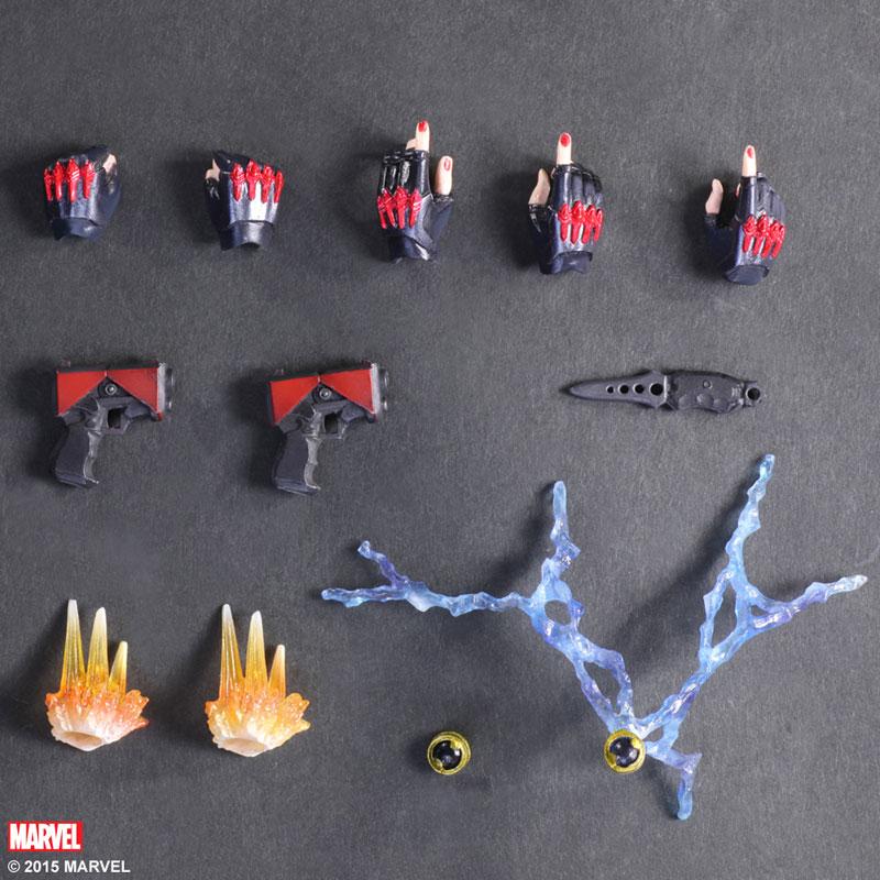 Variant Play Arts Kai - Marvel Universe: Black Widow(Pre-order)ヴァリアント プレイアーツ改 マーベルユニバース ブラックウィドウScale Figure