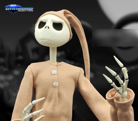 Nightmare Before Christmas - 16 Inch Coffin Doll: Jack Skellington (Pajama Ver.)(Provisional Pre-order)『ナイトメアー・ビフォア・クリスマス』【16インチ コフィンドール】ジャック・スケリントン(パジャマ版)Scale Figure