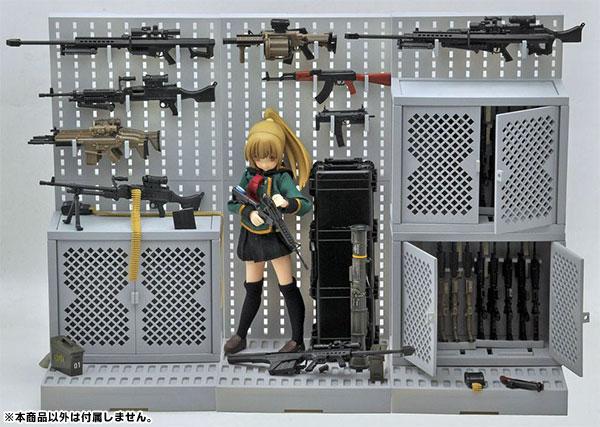 LittleArmory LD002 1/12 Gun Rack A(Pre-order)リトルアーモリー LD002 1/12 ガンラックAScale Figure
