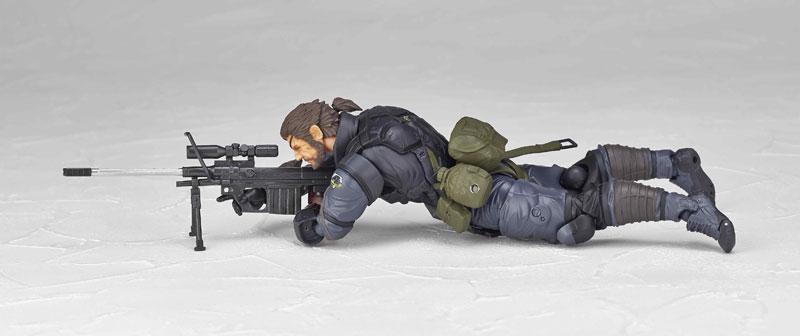 Vulcanlog 004 Venom Snake Sneaking Suit ver.(Pre-order)Vulcanlog(ヴァルカン-ログ) 004 ヴェノム・スネーク スニーキングスーツver.Scale Figure