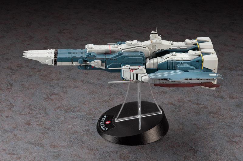 超時空要塞マクロス 1/4000 SDF-1 マクロス要塞艦 w/プロメテウス&ダイダロス プラモデル