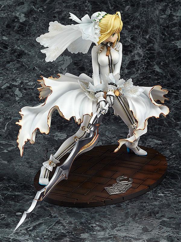 【新品介紹】【GSC】Fate/EXTRA CCC Saber Bride 1/7 PVC Figure - hyde -     囧HYDE囧の御宅部屋
