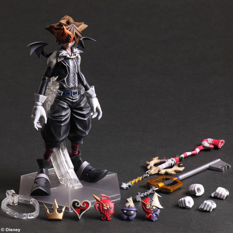 Play Arts Kai - Kingdom Hearts 2: Sora Halloween Town Version(Pre-order)プレイアーツ改 キングダムハーツ2 ソラ ハロウィンタウンバージョンScale Figure