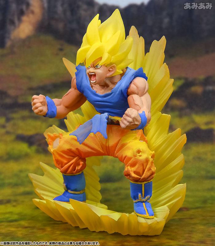 Dracap Memorial 02 Dragon Ball Super - Super Saiyan Son Goku Complete Figure(Pre-order)ドラカプメモリアル 02 ドラゴンボール超 超サイヤ人 孫悟空 完成品フィギュアScale Figure