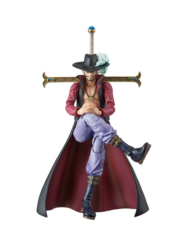 Variable Action Heroes - ONE PIECE: Dracule Mihawk Action Figure(Pre-order)ヴァリアブルアクションヒーローズ ワンピース ジュラキュール・ミホーク アクションフィギュアScale Figure
