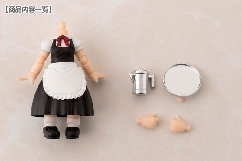 Cu-poche Extra - Waitress Body Long Length (Black)(Pre-order)キューポッシュえくすとら ウェイトレスボディ ロング丈(黒)Nendoroid