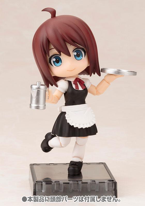 Cu-poche Extra - Waitress Body Short Length (Black)(Pre-order)キューポッシュえくすとら ウェイトレスボディ ショート丈(黒)Nendoroid