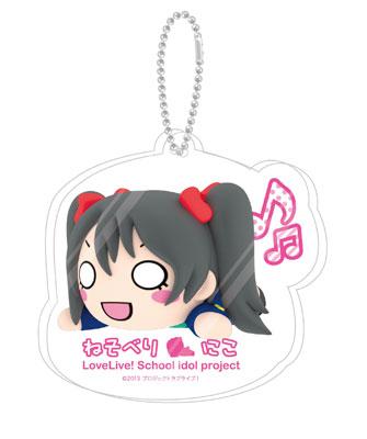 Love Live! - Nesoberi Acrylic Keychain Mascot 10Pack BOX(Pre-order)ラブライブ! 寝そべりアクリルキーチェーンマスコット 10個入りBOXAccessory