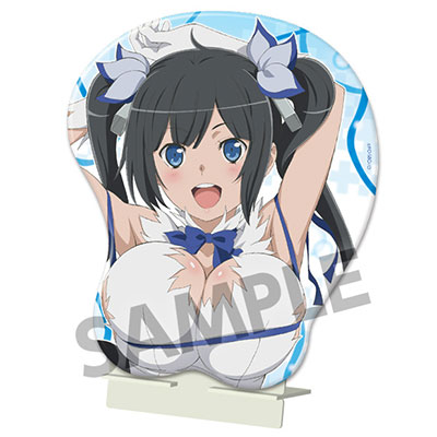 Is It Wrong to Try to Pick Up Girls in a Dungeon? - Oppai Mouse Pad: Hestia(Pre-order)ダンジョンに出会いを求めるのは間違っているだろうか ヘスティア おっぱいマウスパッドAccessory