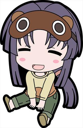 Non Non Biyori Repeat - Petanko Trading Rubber Strap 8Pack BOX(Pre-order)のんのんびより りぴーと ぺたん娘 トレーディングラバーストラップ 8個入りBOXAccessory